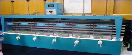 photo of jar testing unit